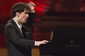 Piano Wunderkind Cristian Sandrin at St Martin-in-the-Fields