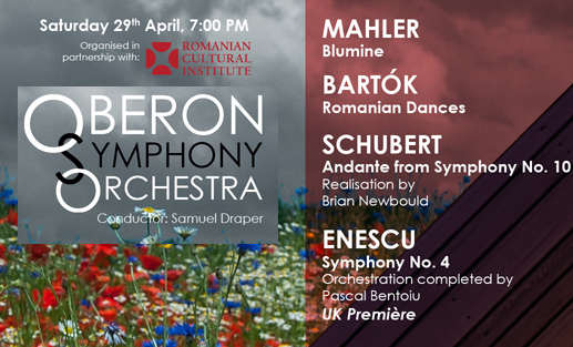 The UK Premiere of Enescu�s Symphony No. 4 in E minor - Completed by Pascal Bentoiu