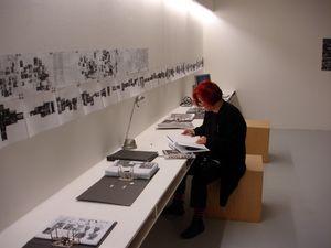 Lia Perjovschi @ TULCA Art Festival, Galway, Irlanda