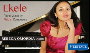 Charismatic Romanian-Nigerian Pianist Rebeca Omordia Plays African Composers in London
