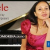 Charismatic Romanian-Nigerian pianist Rebeca Omordia plays African composers