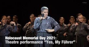 "Holocaust Memorial Day 2021: Theatre performance ""Yes, My Fuhrer"" by the Jewish State Theatre"