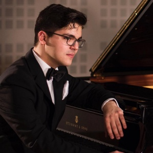Pianist Daniel Ropotă at St Martin-in-the-Fields