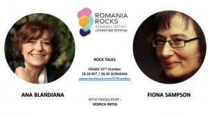Rock Talks: Fiona Sampson Meets Ana Blandiana