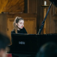 Young pianist Cristiana Achim at St James's Piccadilly
