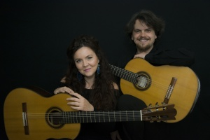 Duo Kitharsis pe scena de la St Martin-in-the-Fields