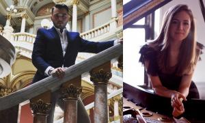 Tenorul Vlad Alexandru Robu şi pianista Iulia Marin, în recital la St Martin-in- the-Fields
