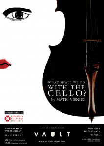 Matei Vişniec's 'What Shall We Do with the Cello' Premieres at London's Vault Festival