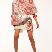 Romanian Designer Carmen Emanuela Popa at London Fashion Week