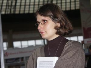 Raluca Dună starts her residency in the Attic Arts studio