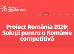 Conferinţă: Proiect România - Cât de competitivi putem fi până în 2020
