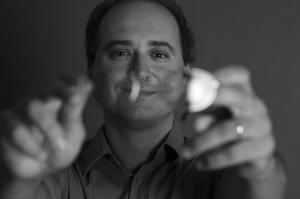 Composer Dan Dediu at the Royal Academy of Music