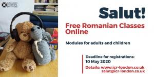 """ICR Londra lansează """"Salut!"""", cursuri online de limba română pentru adulți și copii"""