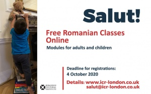 Salut! RCI London's Online Romanian Classes are Back