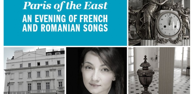 Paris of the East: An evening of French and Romanian songs