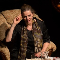 "Star Thespian Maia Morgenstern in ""Janka"" at the Romanian Cultural Institute"