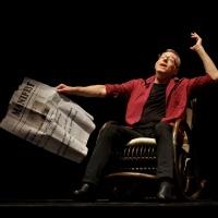 Gigi Căciuleanu's Flamboyant Dance Performance, 'L'Om DAdA' @ Sadler's Wells