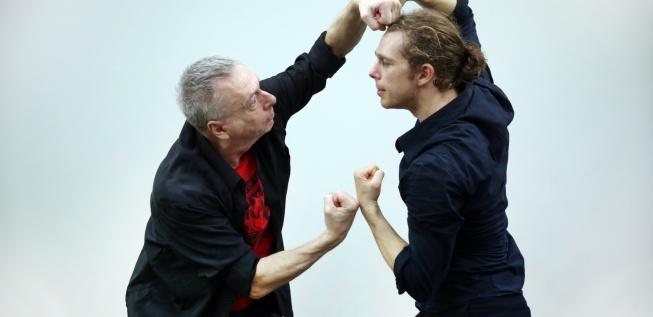 Gigi C�ciuleanu�s �L�Om DAdA�: A choreographic celebration of Tristan Tzara @ DADA 100