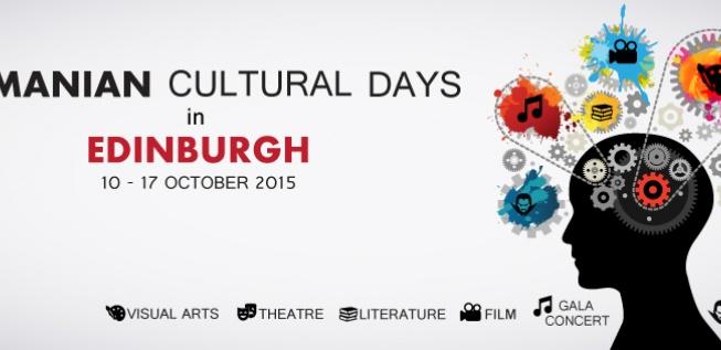Romanian Cultural Days in Edinburgh (10-17 October 2015)
