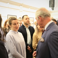 HRH The Prince of Wales marked 30 years since the Romanian Revolution at the Romanian Cultural Institute in London