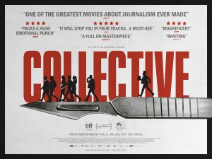 UK Release of Critically Acclaimed Documentary 'Collective' | Panel Discussion with director Alexander Nanau, journalist Cătălin Tolontan and Sarah Clarke (Article 19)