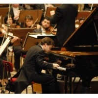 Pianist Andrei Licareț in the Enescu Concerts Series