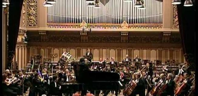 Pianist Andrei Licareț in the Enescu Concerts Series