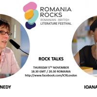 Rock Talks: A.L. Kennedy Meets Ioana Pârvulescu