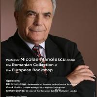 Lansarea secțiunii românești a Librăriei Europene din Londra