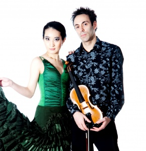 Horia Văcărescu şi Chiho Tsunakawa, un duo exuberant, româno-japonez, interpretează Enescu în premieră, la Festivalul din Newbury