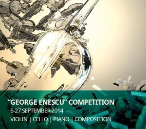 """Înscrieri la Concursul Internațional """"George Enescu"""" până la 1 iulie 2014"""