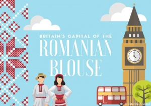 Britain's Capital of the Romanian Blouse