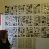 Lia Perjovschi's first exhibition in Ireland