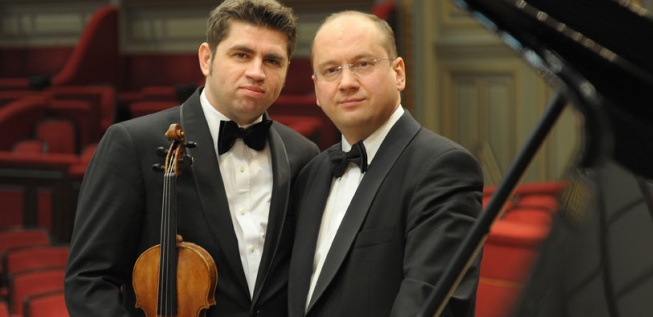 Acclaimed Virtuosos Remus Azoi�ei and Eduard Stan in the 'Enescu Concerts' Series