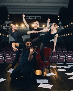 Gigi Căciuleanu's 'One Minute of Dance' Premiers at Sadler's Wells